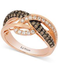 Le Vian - Diamond Ring (5/8 Ct. T.w.) In 14k Rose Gold - Lyst