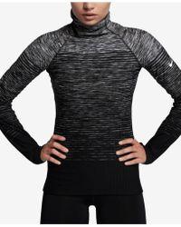 Nike   Hyperwarm Space-dyed Gradient Training Top   Lyst