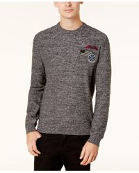 American Rag - Men's Patches Sweater - Lyst