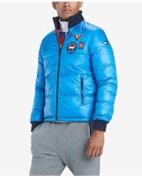 Tommy Hilfiger - Panorama Reversible Puffer Coat - Lyst