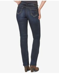 Silver Jeans Co. - Indigo Wash Bootcut Jeans - Lyst