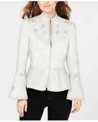 INC International Concepts - I.n.c. Embellished Peplum Jacket, Created For Macy's - Lyst
