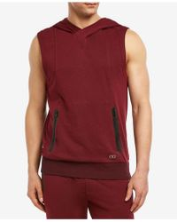 66a480b4db0ce7 Lyst - Without Walls Performance Fleece Sleeveless Hooded Top in ...
