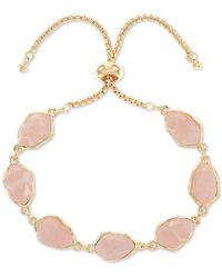 Style & Co. Stone Slider Bracelet, Created For Macy's - White