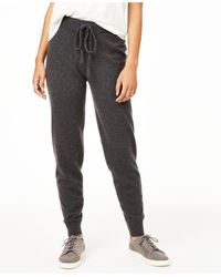 Charter Club Cashmere Jogger Pants, Regular & Petite Sizes, Created For Macy's - Gray