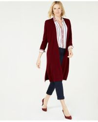 Charter Club - Solid Pure Cashmere Maxi Duster In Regular & Petite Sizes, Created For Macy's - Lyst
