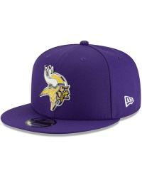 61e52e685 Lyst - KTZ Minnesota Vikings Team Stripe Bucket Hat in Purple for Men