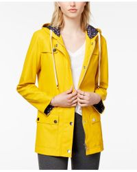 Maison Jules - Hooded Raincoat - Lyst