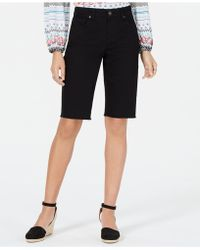 Style & Co. Cutoff Bermuda Shorts, Created For Macy's - Black