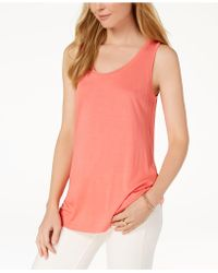 Maison Jules - Scoop-neck Tank, Created For Macy's - Lyst