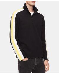 Calvin Klein - Striped Sweatshirt - Lyst
