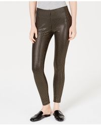 Maison Jules - Metallic-print Pull-on Pants, Created For Macy's - Lyst