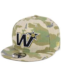 82272ec242a ... wholesale ktz washington wizards combo camo 9fifty snapback cap lyst  2dd91 ca7d0