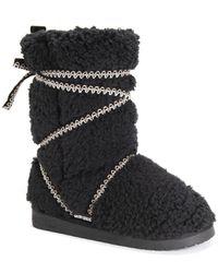 Muk Luks Reyna Boots - Black