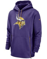 Nike - Minnesota Vikings Sideline Player Therma Hoodie - Lyst
