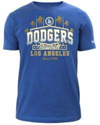 KTZ Gold Marquee T-shirt - Blue