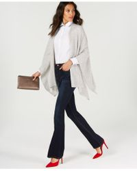 Charter Club Pure Cashmere Wrap, Created For Macy's - Gray