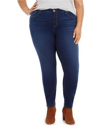 Style & Co. - Plus Size Mid-rise Curvy Skinny Jeans, Created For Macy's - Lyst
