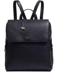 Radley Large Flap Over Backpack - Black