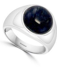 Effy Sodalite Ring In Sterling Silver - Metallic