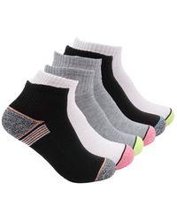 K-swiss Cushioned Court Performance Quarter Socks, 6 Pack - Multicolor