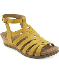 Earth Pippa Sandal - Yellow