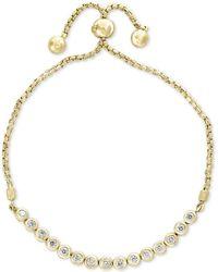 Effy Collection - Bubbles By Effy® Diamond Bezel Bolo Bracelet (5/8 Ct. T.w.) - Lyst