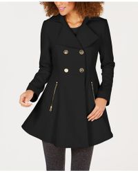 Laundry by Shelli Segal - Petite Skirted Coat - Lyst