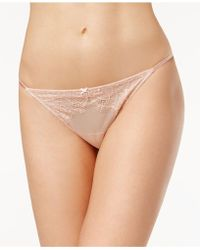 B.tempt'd | B.sultry Lace Thong 976361 | Lyst