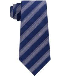 Michael Kors - Stripe Slim Tie - Lyst