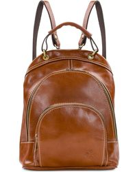 Patricia Nash Woven Luzille Small Backpack - Brown