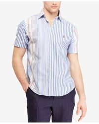 Polo Ralph Lauren - Classic Fit Striped Oxford Shirt - Lyst