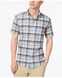 Tommy Hilfiger - Willis Plaid Shirt, Created For Macy's - Lyst