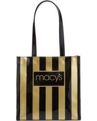 Macy's - Dani Accessories Black & Gold Tote - Lyst