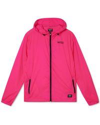 Wesc Neon Packable Windbreaker - Pink