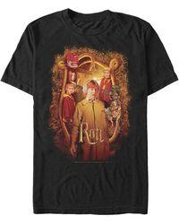 Fifth Sun Chamber Of Secrets Ron Weasley Siblings Poster Short Sleeve T-shirt - Black