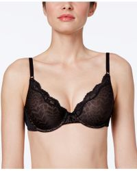 Maidenform - One Fab Fit Embellished Scallop Neckline Demi Bra 9471 - Lyst