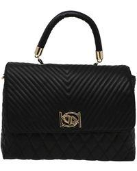 Bebe Winnie Shoulder Bag - Black