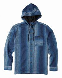 Billabong Baja Flannel Shirt - Blue