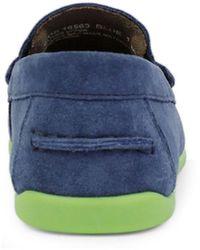 Florsheim Big Boy Jasper Driver Shoes - Blue