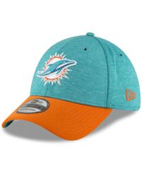 cfb397cb7f2 Lyst - KTZ Miami Dolphins Training Camp Official Bucket Hat in White ...