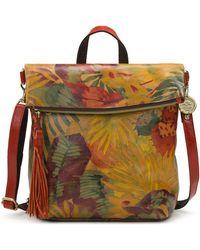 Patricia Nash Luzille Leather Backpack - Multicolour