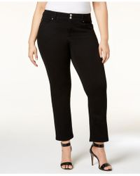 INC International Concepts - I.n.c. Plus Size Straight-leg Jeans, Created For Macy's - Lyst