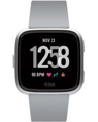 Fitbit - Versatm Gray Touchscreen Smart Watch 39mm - Lyst
