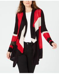 INC International Concepts - I.n.c. Colorblocked Open Cozy, Created For Macy's - Lyst