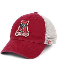 47 Brand Alabama Crimson Tide Stamper Closer Stretch Fitted Cap - Red