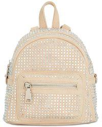 Steve Madden - Scottie Crystal Mini Crossbody Backpack - Lyst