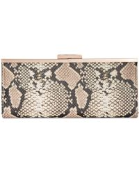 INC International Concepts I.n.c. Carolyn Snake Clutch, Created For Macy's - Multicolor
