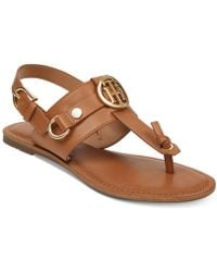 Tommy Hilfiger - Luvee Flats Sandals - Lyst