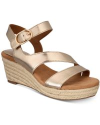 Style & Co. - Xenaa Platform Espadrille Wedge Sandals, Created For Macy's - Lyst